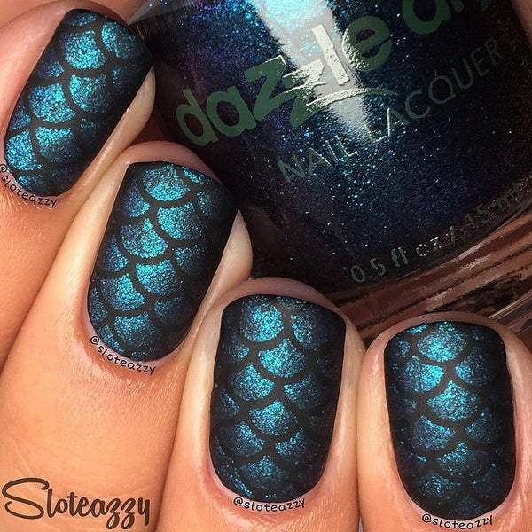 Whats Up Nails Nail Vinyl - Scales Stencils