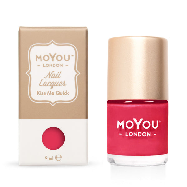 MoYou London Stamping Nail Lacquer - Kiss Me Quick