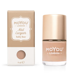 MoYou London Stamping Nail Lacquer - Teddy Bear
