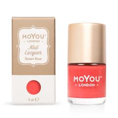MoYou London Stamping Nail Lacquer - Desert Rose