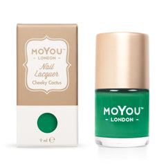 MoYou London Stamping Nail Lacquer - Cheeky Cactus