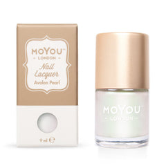 MoYou London Stamping Nail Lacquer - Avalon Pearl