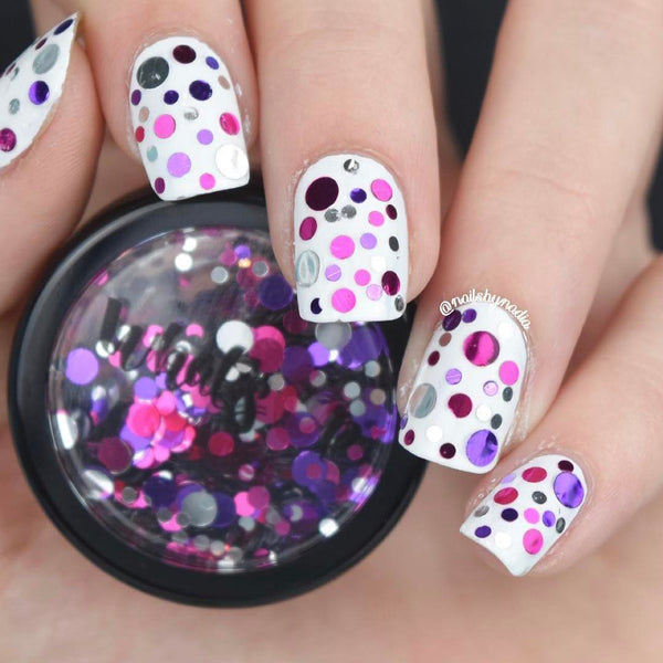 Whats Up Nails Berries Confetti