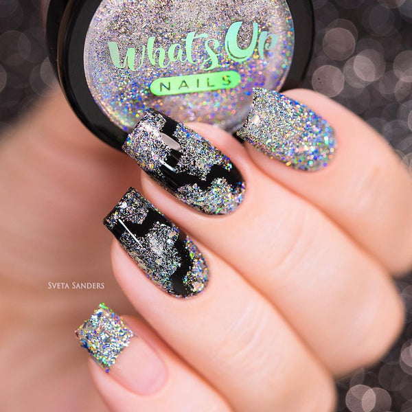 Whats Up Nails Holographic Flakies
