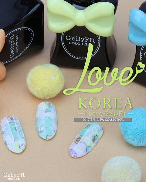 GellyFit - Love Korea Collection Set