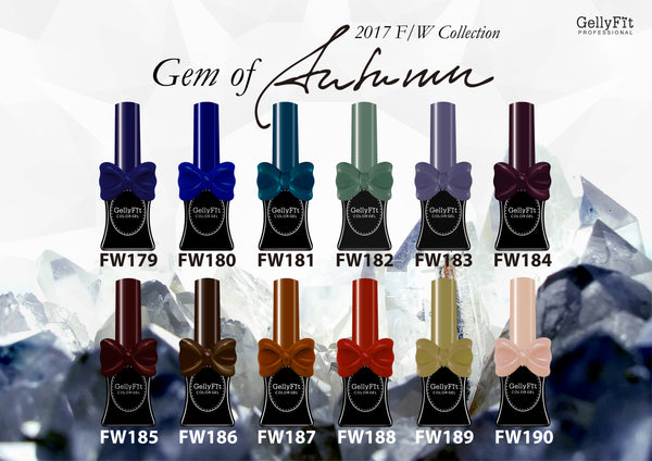 GellyFit - 2017 Gem of Autumn Collection Set