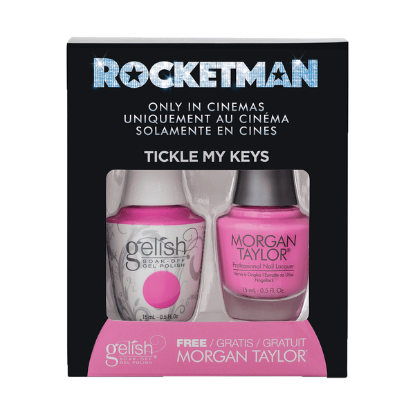 Gelish Two Of A Kind - Tickle My Keys (Rocketman Collection)