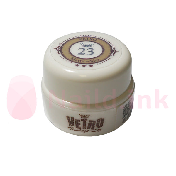 Vetro No.19 Gel Pod - 023 Matte White