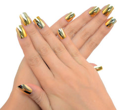 Nailhur Snap On Manicure - 24K (Square)