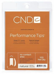 CND Performance Tips - Choose Natural, White or Clear (100 count)