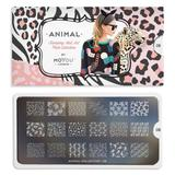 MoYou London Stamping Plate - Animal 08