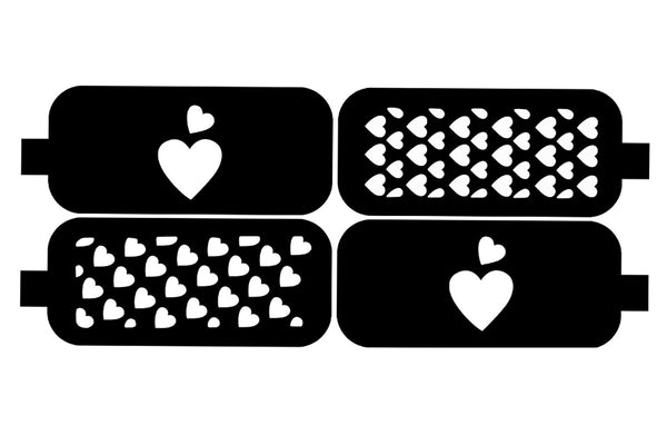 Airbrush Design Stencil No.6