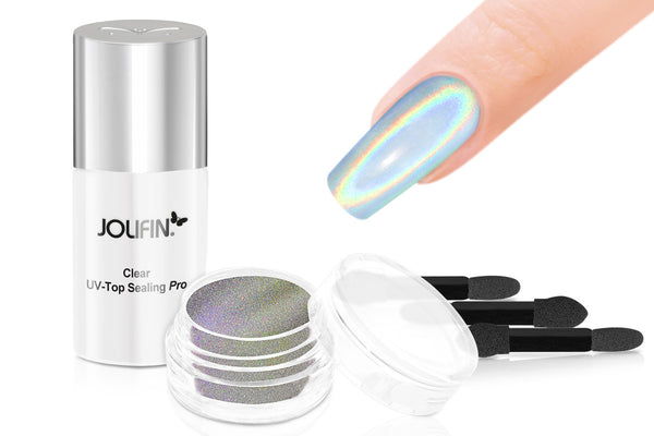 Effect Powder Starter Kit (incl. Chrome, Chameleon & Holo)