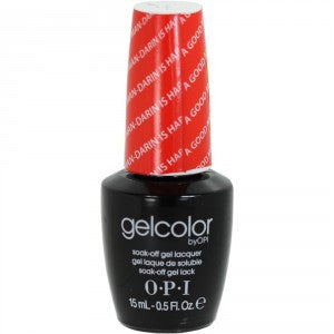 OPI GelColor - A Good ManDarin Is Hard To Find