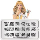 MoYou London Stamping Plate - Alice In Wonderland 09