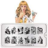 MoYou London Stamping Plate - Alice In Wonderland 10