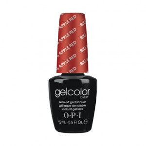 OPI GelColor - Big Apple Red