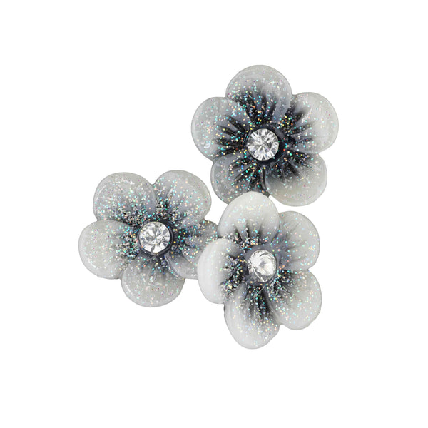 Resin Flower - Black