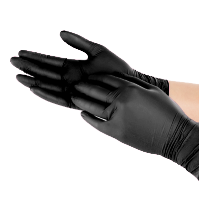 Disposable Hygene Gloves - Black Pearl (Size S)
