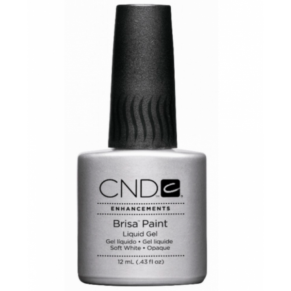 CND Brisa Paints Liquid Gel - Soft White (12ml)