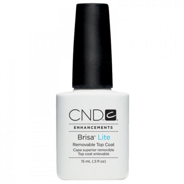CND Brisa Lite Removable Top Coat (15ml)