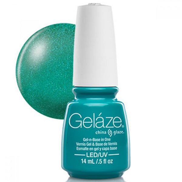 Geláze Gel-n-Base in One - Turned Up Turquoise