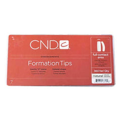 CND Formation Tips - Natural (360 count)