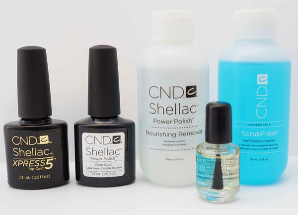 CND Shellac Essentials Kit (Small or Large)
