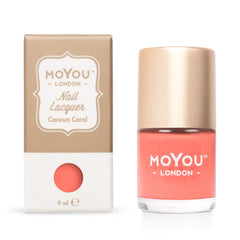 MoYou London Stamping Nail Lacquer - Cancun Coral