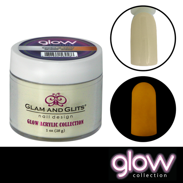 Glam and Glits Glow Acrylic Powder - Candlelight