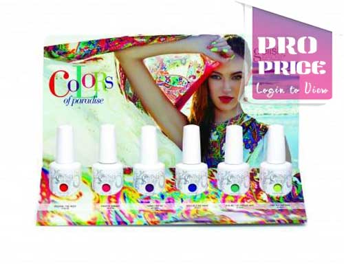 Gelish - Colors of Paradise Collection