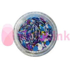 Confetti - Cake Pop (White Blue Gold Purple)