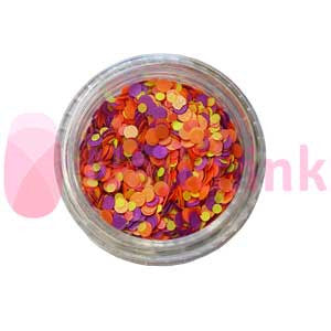 Confetti - Flower (Orange Purple Yellow)