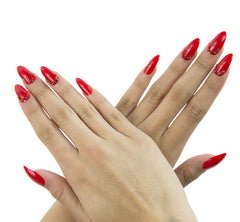 Nailhur Snap On Manicure - Cruel Intentions (Stiletto)