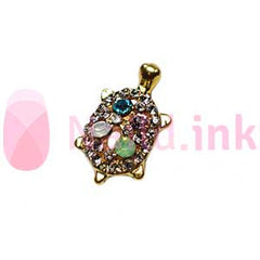 Nail Charm - Crystal Sea Turtle