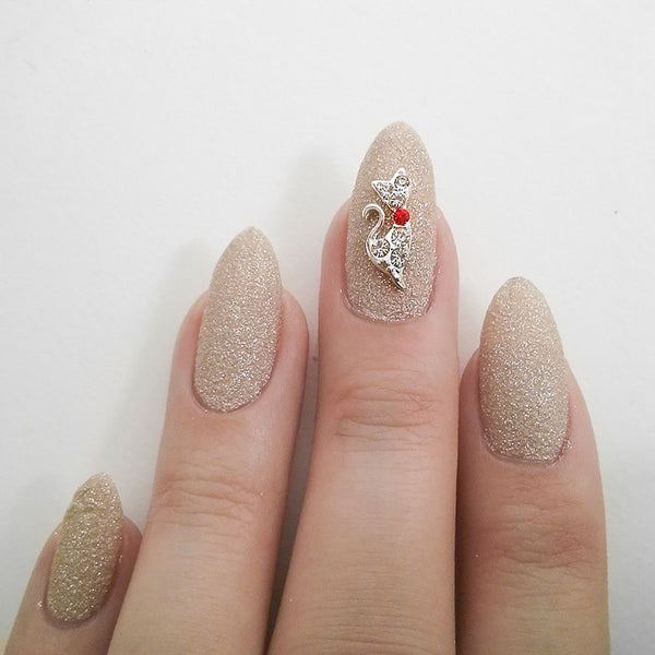 Nail Charm Diamond - Gold