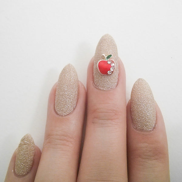 Nail Charm Red Apple