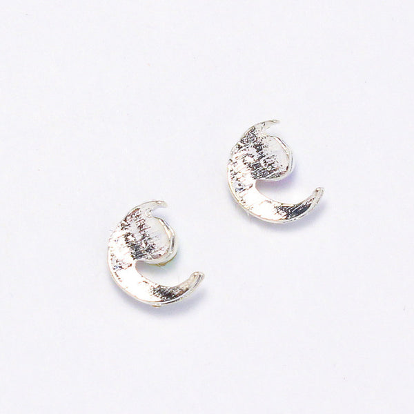 Nail Charm Crescent Moon - Silver