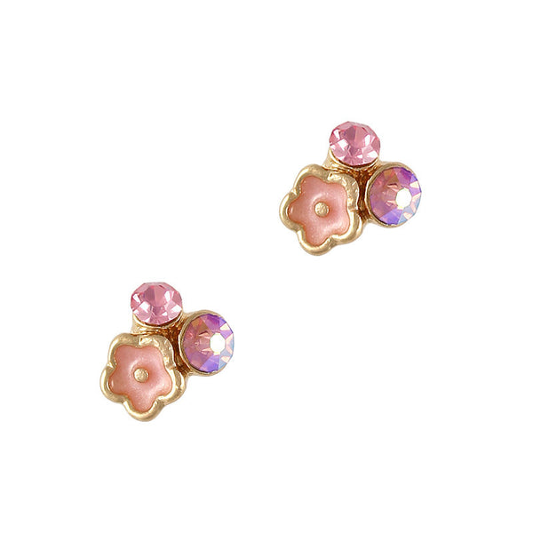 Nail Charm Wildflower Cluster - Pink