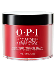 OPI Powder Perfection - Big Apple Red
