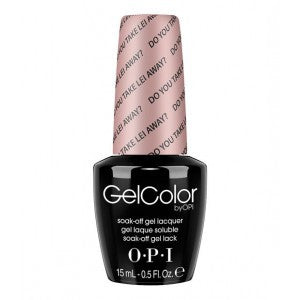 OPI GelColor - Do You Take Lei Away?