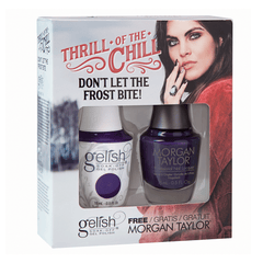 Gelish Two Of A Kind - Don't Let The Frost Bite!  (Thrill Of The Chill Collection)