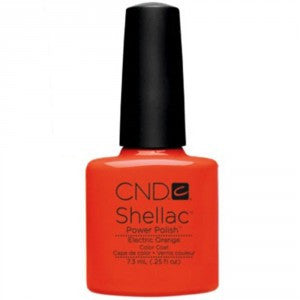 CND Shellac - Electric Orange (7.3ml)