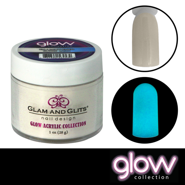 Glam and Glits Glow Acrylic Powder - En-Light-Ened