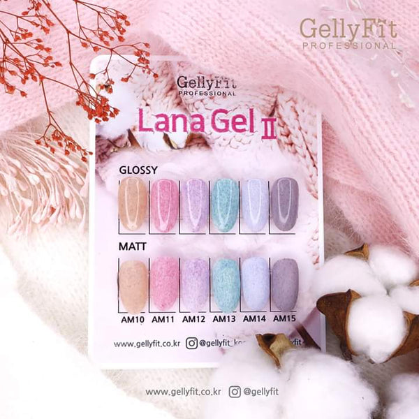 GellyFit - 2019 Lana Gel vII Collection Set