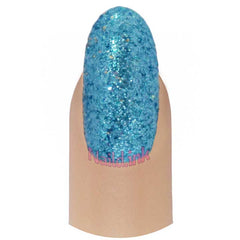 Fine Nail Art Glitter - Metallic Blue