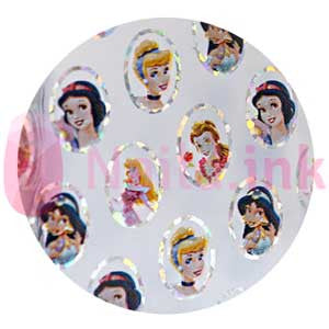 Nail Art Foil - Disney Princess 1