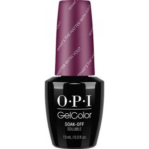 OPI GelColor - What's The Hatter With You?