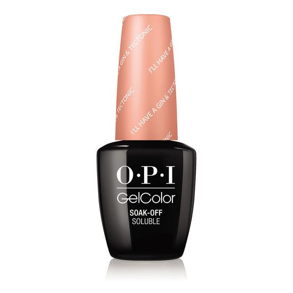 OPI GelColor - I'll Have A Gin & Tectonic