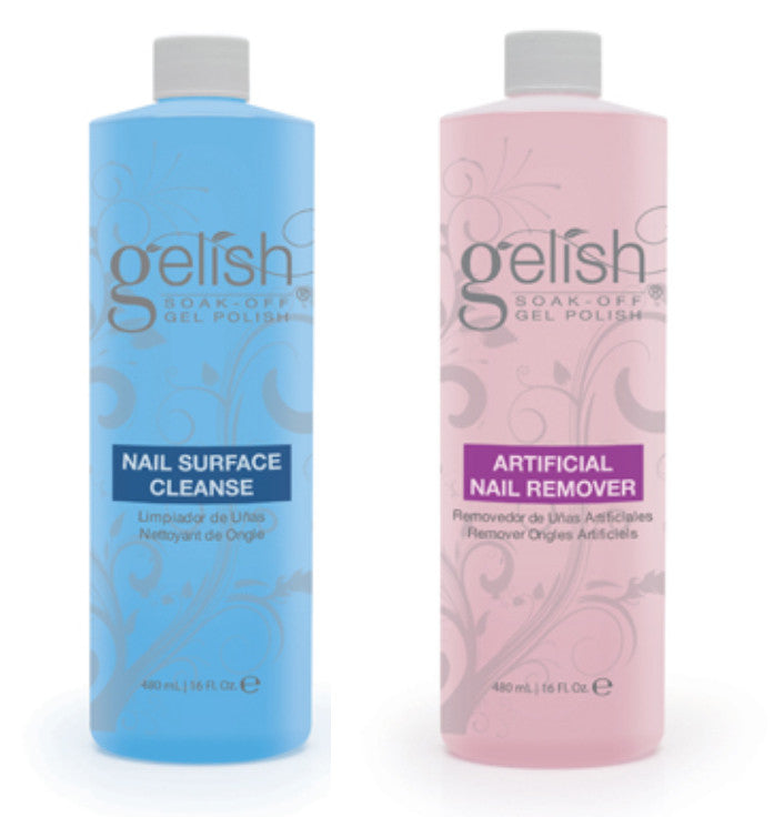 Gelish - Cleanser & Remover Combo (236ml, 480ml or 960ml)